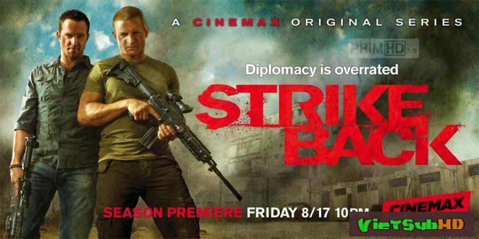 Phim Trả Đũa: Phần 4 Hoàn Tất (10/10) VietSub HD | Strike Back: Season 4 2013
