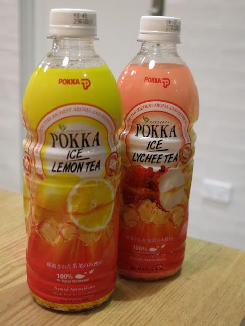Pepper Lunch, Hawthorn - Japanese Pokka iced teas