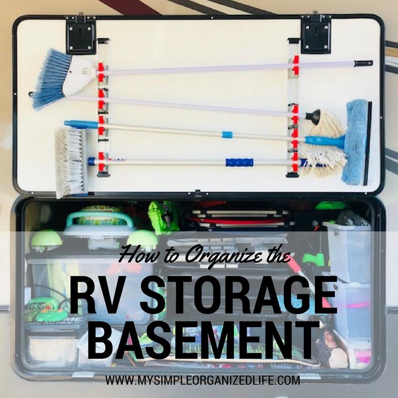 Organizing the RV Basement