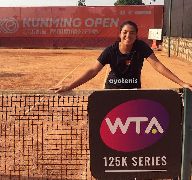 Jessy Rompies/Rosalie Van Der Hoek Maju ke Perempat Final Turnamen WTA Kunming Terbuka