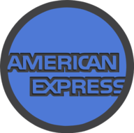 american express icon outline