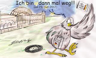 Christian Hildebrandt, Karikatur, EU, Fiskalpakt, Europa, Diktatur
