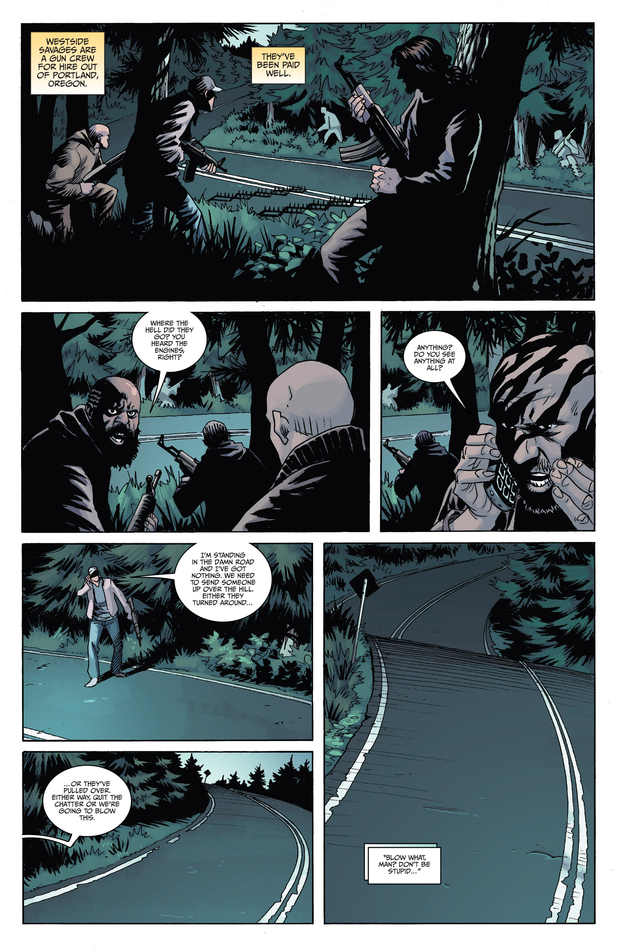 Read online Sons of Anarchy comic -  Issue #6 - 7
