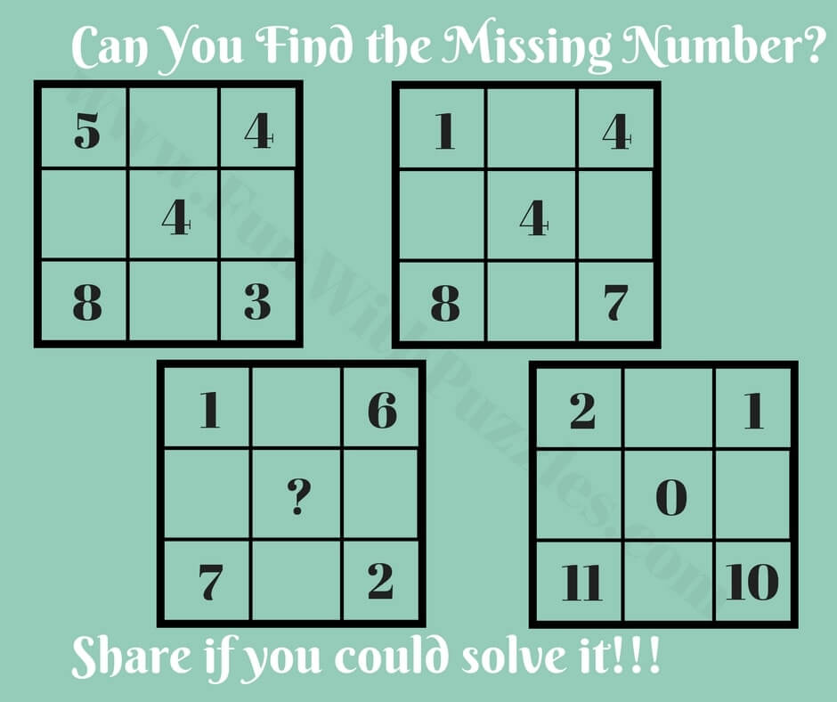 Tricky IQ Test Simple Math Question with Answer - Fun With Puzzles