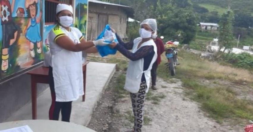 QALI WARMA: Programa social atendió al 100% de instituciones educativas públicas de Amazonas con alimentos no perecibles - www.qaliwarma.gob.pe