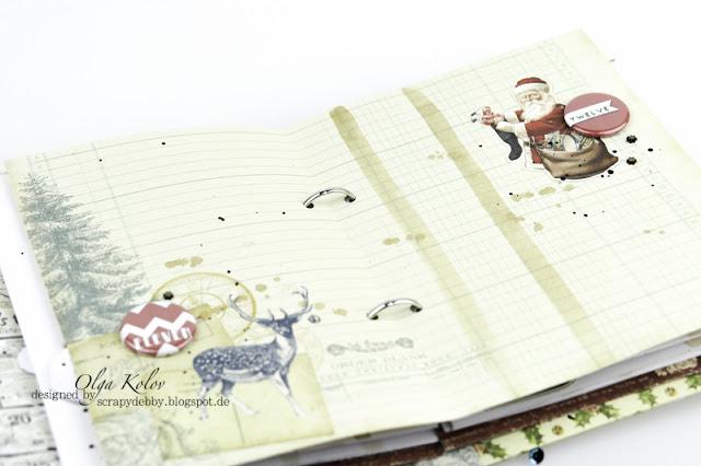 @olgakolov #december #planner #scrapberrys #umwowstudio