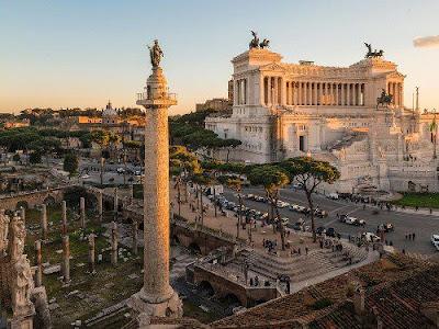 Thăm quan Rome trong liên minh Châu Âu