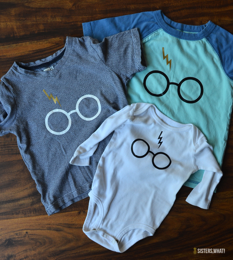 how to make modern harry potter shirts