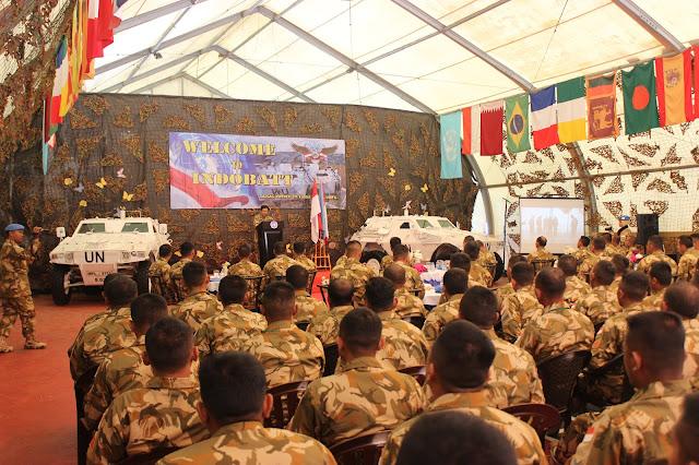 Penmil PTRI Kunjungi Prajurit TNI Konga XXIII-M/Unifil di Lebanon Selatan
