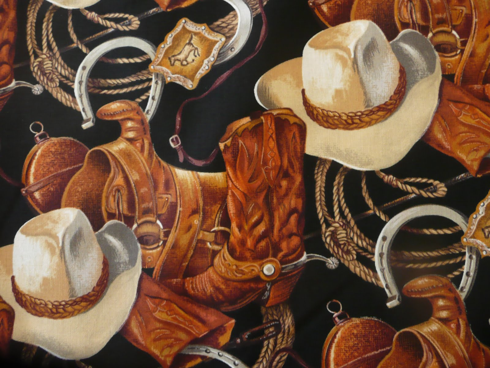 Cowgirl Up Quilts Western Fabric Or Rodeo