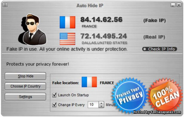 HACKER -  Hide IP