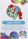 My Little Pony Wave 11 Candy Apples Blind Bag Card