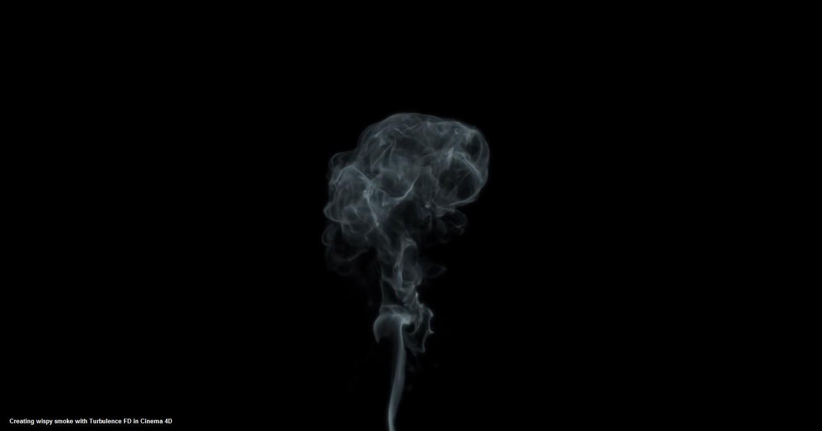 Creating wispy smoke with Turbulence FD in Cinema 4D | CG