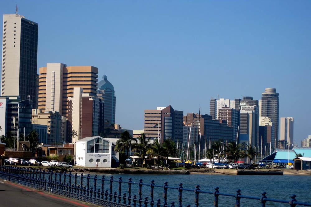 Durban, Cidade de KwaZulu-Natal na África do Sul
