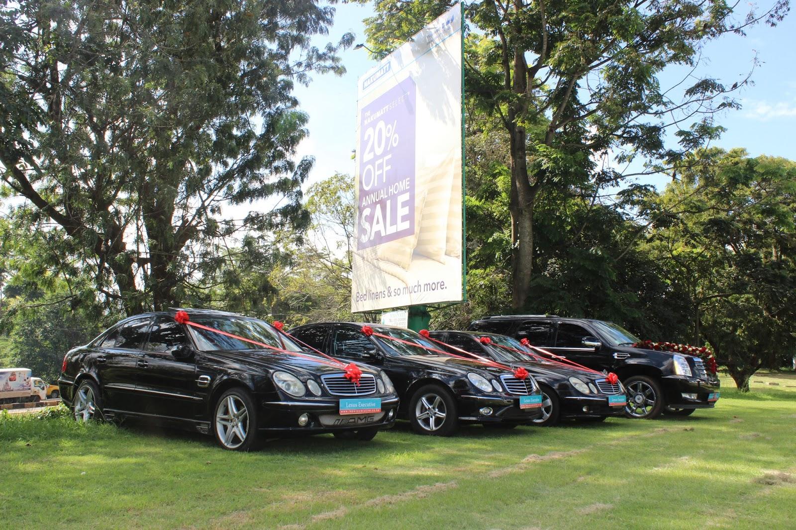 Wedding Cars By Lesus Executive Car Hire January 2016