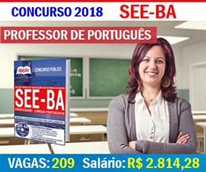 Apostila SEE-BA 2018 Professor de Português