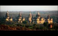 Chattris of Orchha
