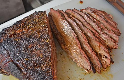 sliced Certified Angus Beef® Brand brisket