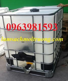 Cung cấp bồn chứa hóa chất, thùng chứa hóa chất, bồn nhựa 1000 lít giá rẻ