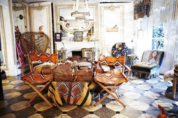 Moon To Moon: A Bohemian London Townhouse