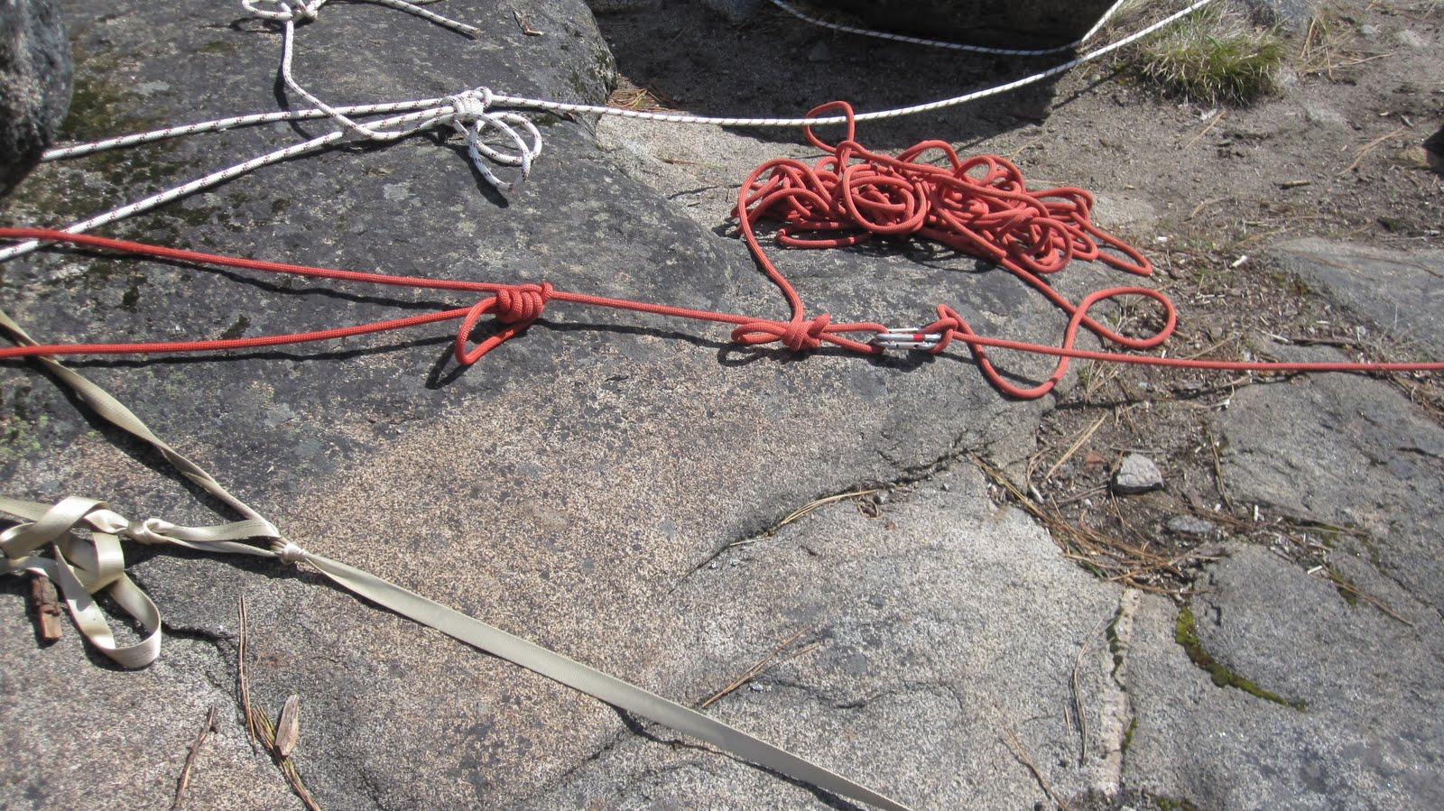 American Alpine Institute Climbing Blog Using Your Rope In Anchors Wiring Harness