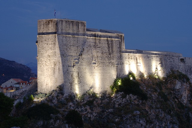 Lovrijenac fortress, a filming site for Game of Thrones