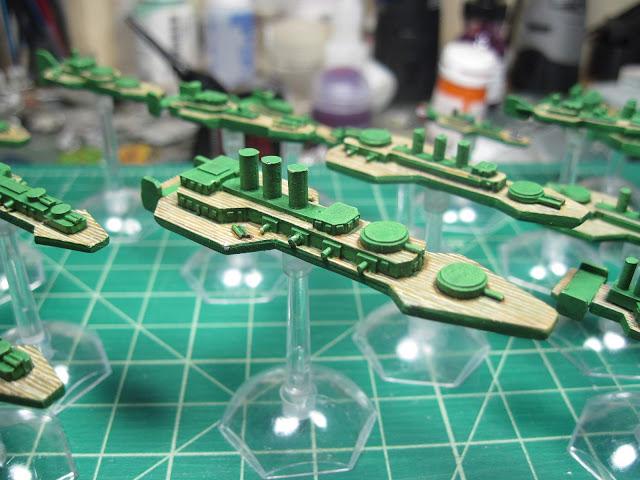 Budapest Class Light Battleship
