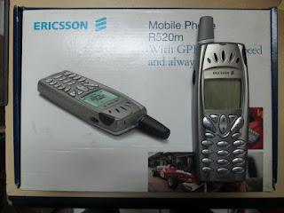 Ericsson R520m seken jadul fullset
