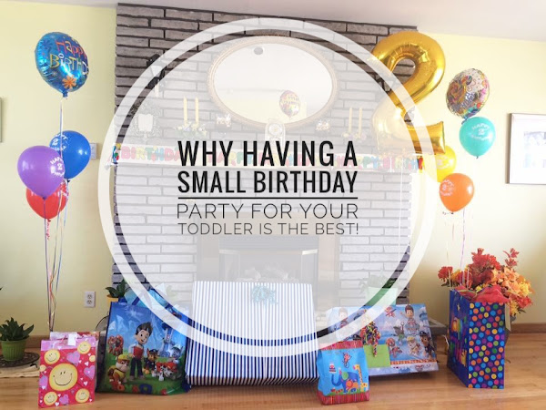 Why Having a Small Birthday Party for your Toddler is the Best!
