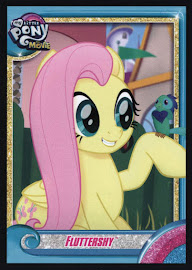 MLP Fluttershy MLP the Movie Trading Card
