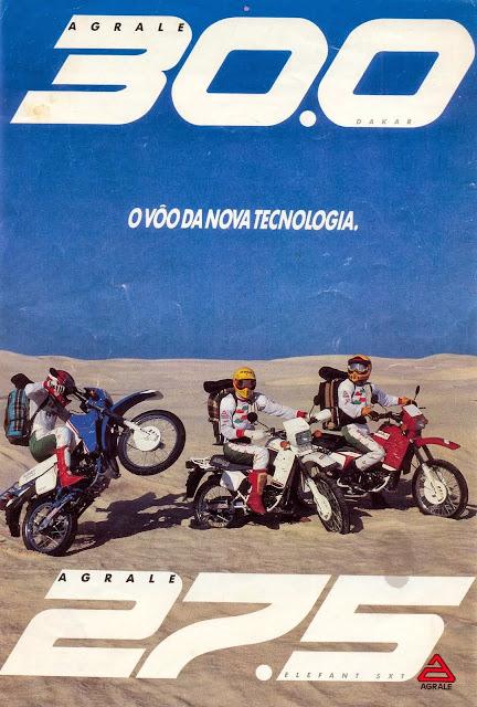 Agrale+Sxt+27.5+30.0 - Garagem do Colecionador: Agrale Dakar 30.0 - 1988