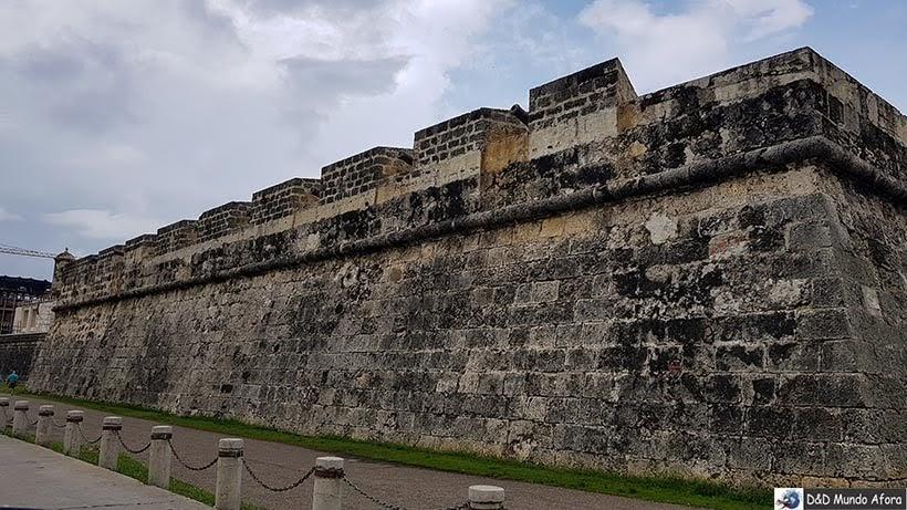 Muralhas de Cartagena: melhor pôr do sol
