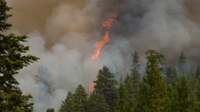 Evacuations underway in California, Oregon as wildfires near eclipse-viewing spot