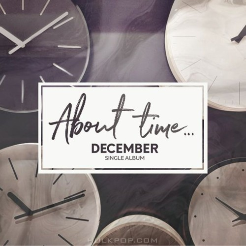 DK (December) – About time – Single