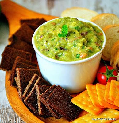 sylwester, guacamole, finger food, przekaski na sylwestra, imprezowe menu