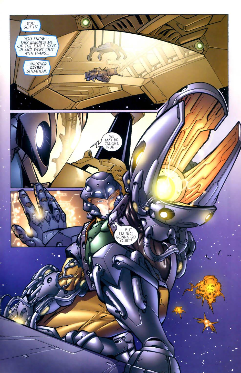 Read online Sigil (2000) comic -  Issue #3 - 18