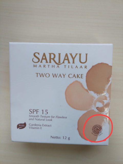 Sariayu Tinted Moisturizer Sariayu Two Way Cake