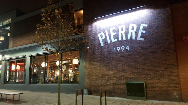 Bistrot Pierre Altrincham outside building view showing windows