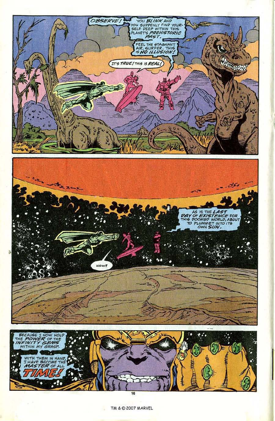 Read online Silver Surfer (1987) comic -  Issue #44 - 18