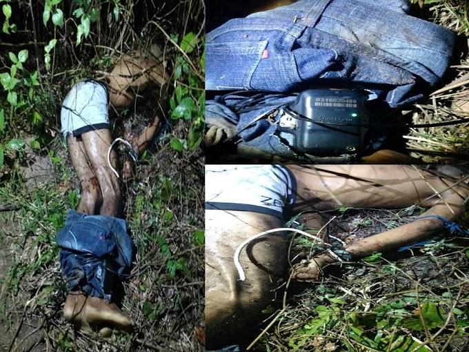 Um corpo foi localizado no Golandim, o mesmo é um ex presidiário, até o momento sem identificação.