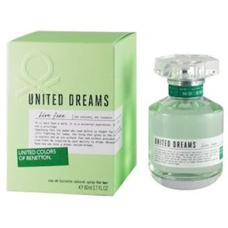 Parfum Wanita Benetton United Dreams Live Free