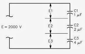 los condensadores en serie aumentan el voltaje de ruptura