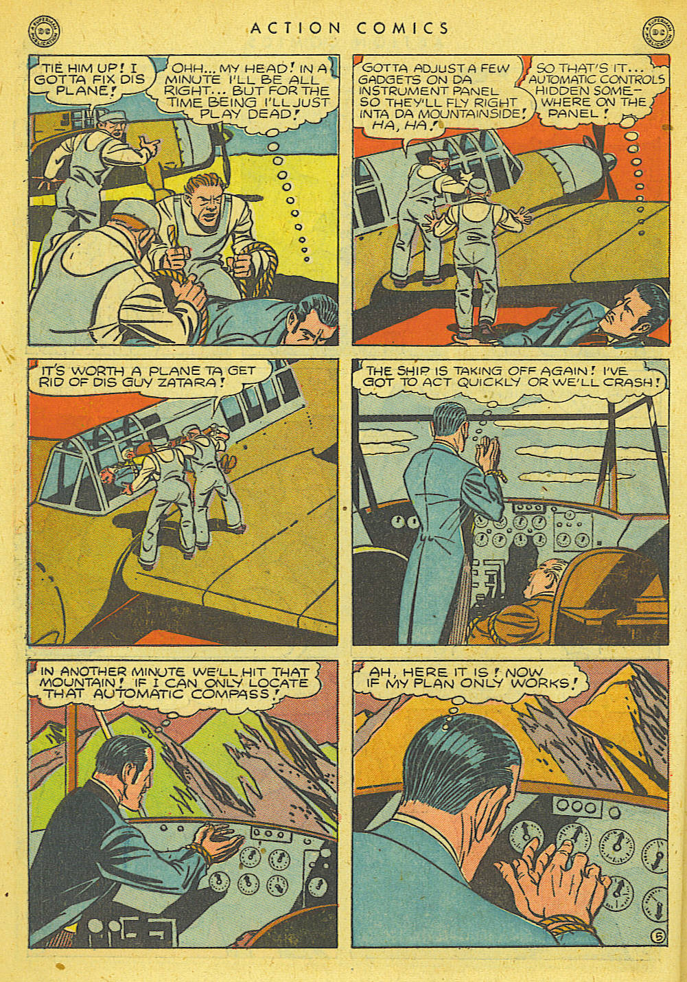 Read online Action Comics (1938) comic -  Issue #78 - 40
