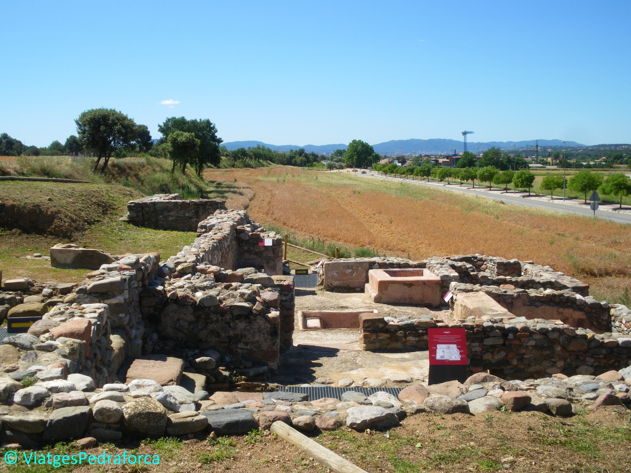 Vallès Oriental, Catalunya, ruta arqueològica