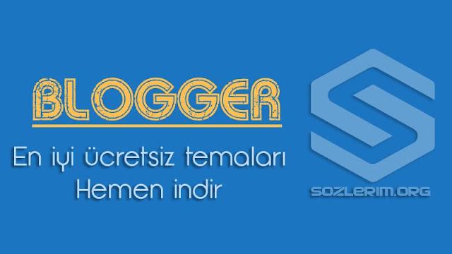 blogger, blogger tema indir, en iyi ücretsiz blogger temaları, ücretsiz blogger temaları, seo dostu blogger temaları