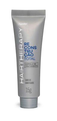Ampola de Tratamento Panvel Hair Therapy Reconstrução Total