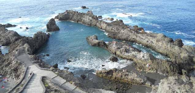 Piscinas naturales en la isla de tenerife isla de for Piscinas naturales en el sur de tenerife