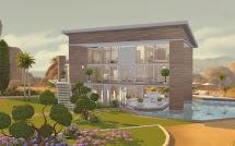 Sims 4 Modern House - Cc
