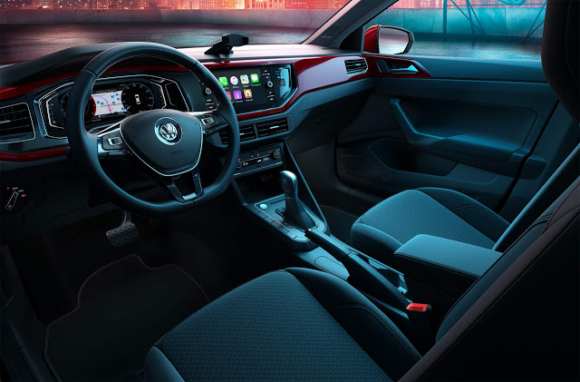 VW Virtus Beats interior