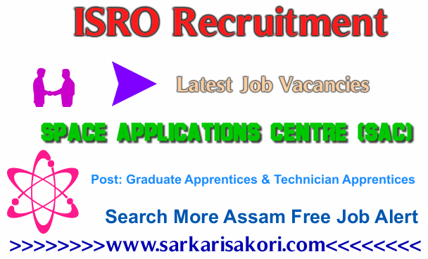 ISRO Recruitment 2017 Graduate Apprentices & Technician Apprentices